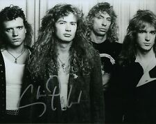 Gfa Megadeth Band Guitarist * Chris Poland * Signed 8x10 Photo Proof C4 Coa