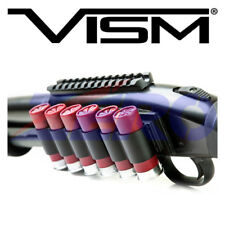 VISM 12 Gauge Shotgun Side Saddle 4/6 Shells 870 Remington Mossberg Holder Black