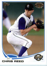 2013 Topps Pro Debut #135 Chris Reed (Prospect / Rookie Card) NM-MT
