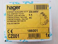 Hager CZ001 Contatto ausiliario  di segnalazione guasto 1C+1O 230V-440V