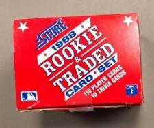 1988 Score Rookie & Traded Baseball Magic Motion Trivia Cards Alomar Biggio RC