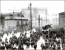 Photo: Distant RMS Titanic & The Shipyard From Downtown Belfast, Winter 1911