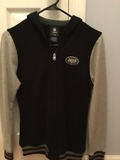 Ny Jets Hooded Zip Sweatshirt By Nfl Team Apparel - Size Xl-16 -Brand New W/Tags