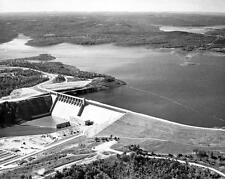 Old Photo.  Branson, Missouri.  Sky View of Table Rock Dam