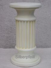 Antik Säule Blumensäule Tisch Design Barock Säulen Stuckgips  Deko 1001 Crem