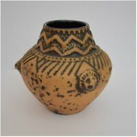 Vintage 1960s Jasba Ceramic from West German Pottery.