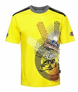 T-Shirt 3030 RallyCross Shortsleeve MSE Ford Extreme Rally NEW! Yellow