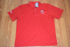 Nwt Mens Champion Utah Utes Red Short Sleeve Polo Shirt Size Xxl 2Xl