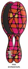 Wet Brush Detangling Brush Stain Glass Pattern Pink (BWP830STAIPK)
