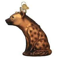 Old World Christmas HAPPY HYENA (12579)N Glass Ornament w/ OWC Box
