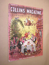COLLINS MAGAZINE DECEMBER 1951. BOYS & GIRLS LITERARY MAGAZINE