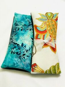 Gift Combo Lavender Rice HOT COLD Aromatherapy Pad Body Neck Wrap Floral Soft