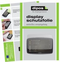 3x TomTom Go Professional 6200 Schutzfolie matt Displayschutzfolie Folie Display