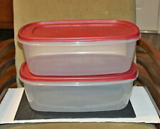 Rubbermaid Plastic Easy Food Set of 2 Storage Containers, 40 Cup/2.5 Gal
