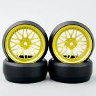Hot Sell 12mm Hex 4Pcs a set Tires&Wheel For HSP HPI RC 1/10 Off Road Racing Car