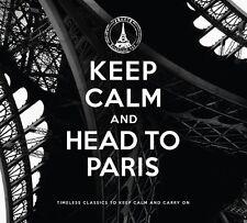 Keep Calm and head to paris 2 CD NEUFS edith piaf/LEO FERRE/BRIGITTE BARDOT/+