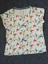 Bird T Shirt Top Size 14 Pep & Co Excellent