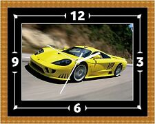 Saleen S7 Car Wall Clock Gift Present Christmas Birthday (Can Be Personalised)