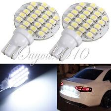 2x T10 W5W 24 SMD 1210 LED Bombilla Panel Blanco Coche Side Wedge Lámpara Light