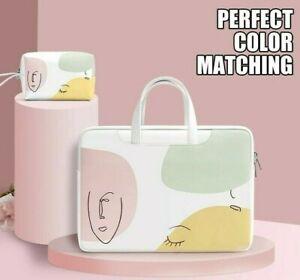 "Laptop Sleeve Case Handbag 12""/13""/14""/15"" MacBook Air Pro HP Dell Acer Women"