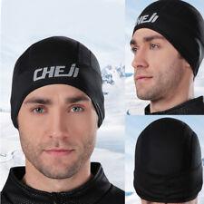 Fleece Bicycle Cycling Skull Cap Bike Motorcycle Warm Hat Helmet Liner Ear Cover