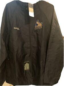 Reebok Hockey Peoria Rivermen Jacket NAVY BLUE Large