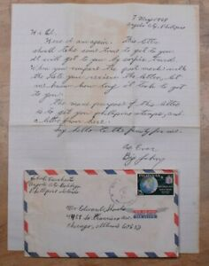 Mayfairstamps Philippines 1969 Angels City to US Chicago IL cover & Letter wwp77