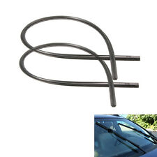 "2x 26"" Auto Car Frameless Windshield Wiper Blade Rubber Refill Strips Universal"