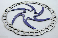 Ashima Airotor Mountain Bike Disc Brake Rotor MTB 180mm 180 mm 136g BLUE