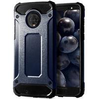 Portable Bumper Étui Pour Motorola Moto G6 Plastique Rigide Extérieur TPU Housse