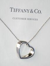 Tiffany & Co Argento Sterling Collana Cuore GEOMETRICO