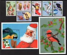 NEVIS MNH 1996 SG1045-51 Christmas, Birds