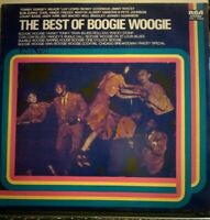 THE BEST OF BOOGIE BOOGIE - VINILE LP 33 GIRI - T.DORSEY B.GOODMAN C.BASIE