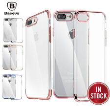 For Apple iPhone 7 Plus / 8 Ultra Thin Transparent Clear Shockproof Bumper Case