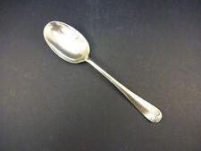 """Vintage silver plate """"Rat Tail"""" dessert cuillère: 17.6 cm de long"""