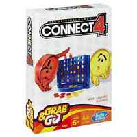 Hasbro Gaming Grab & Go Connect 4 Edition Travel Board Game Ages 6+ *BRAND NEW*