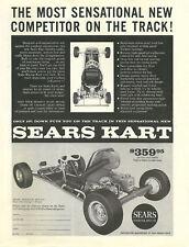 Vintage & Very Rare 1960 Sears Kart Go-Kart Ad
