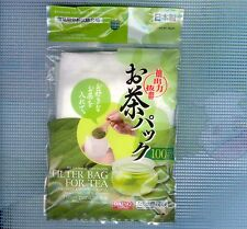 JAPAN Disposable Tea Bag Filters for Green Herb Chinese Tea Leaves ( 100 Pcs )