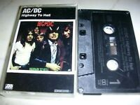 AC/DC Highway To Hell  *ATLANTIC TAPE*RARE GERMAN COVER*1979*NO BARCODE*MC