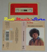 MC RICCARDO COCCIANTE Omonimo 1978 ITALY RCA NK 74172 cd lp dvd vhs