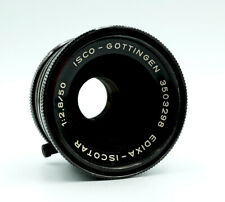 Vintage Edixa-iscotar 2.8 50mm Isco Gottingen Prime Lens for M42 fit