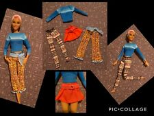 BARBIE DOLL, 4 pc fashion set ,FASHIONISTA,,POPPY PARKER ,MUSE,  (NO DOLL)