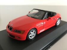 BMW Z3 2.8 Cabriolet 1997 Red MINICHAMPS 1:43  430024330 NEW!