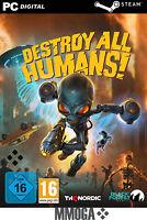 Destroy All Humans - PC Steam Spiel Digital Code [Einzelspieler] [DE/Worldwide]