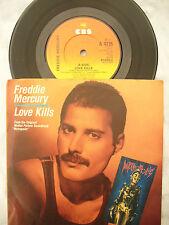 FREDDIE MERCURY LOVE KILLS / ROTWANG'S PARTY cbs 4735  picture sleeve
