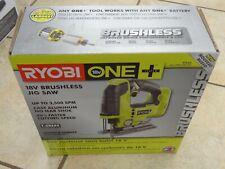 Ryobi 18-Volt ONE+ Cordless Brushless Jig Saw (TOOL ONLY), P524