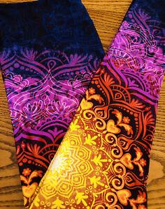 LuLaRoe TC Mandala Rainbow Tie Dye Medallion Floral Paisley Leggings NWT Rare