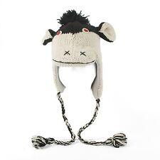 Handmade 100% Wool Unisex Animal Monster Devil Design Nepal Hat