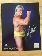 Greg The Hammer Valentine HOF 04 SIGNED WWE Licensed 8x10 Photo NWA AWA  With COA