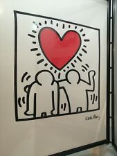 KEITH HARING  Poster BE MINE 1987 Moco Museum